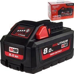 Akumulator High Output 18V 8.0 Ah HB8 Milwaukee
