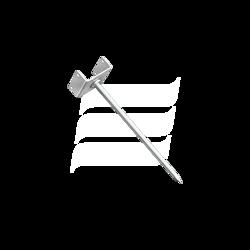 Uchwyt listwy kalenicy - gwóźdź 210 mm