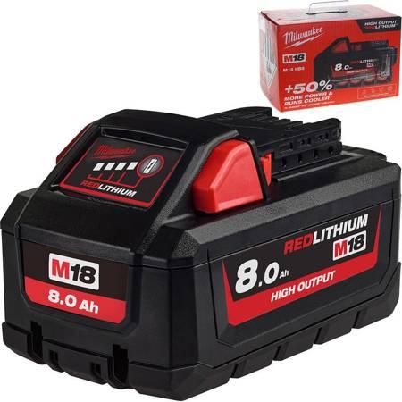 Akumulator High Output 18V 8.0 Ah HB8 Milwaukee