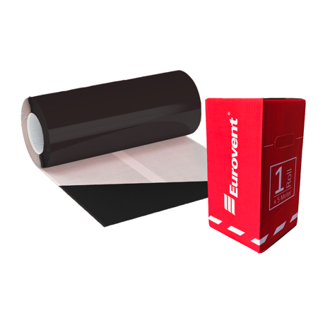 Taśma Kominowa Ołowiana FLEX FLAT 30cm x 5mb Eurovent Czarny [RAL 9005]