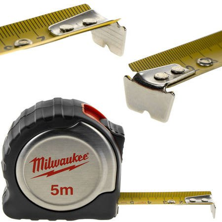 Taśma miernicza silver 5m/19mm Milwaukee