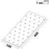 Płytka perforowana PP16 100x400x 2,0 mm (1 szt,)